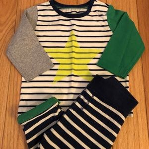 Striped Top and Pant Set